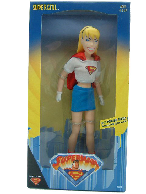 "Superman Animated Series 12"" Supergirl MISB"